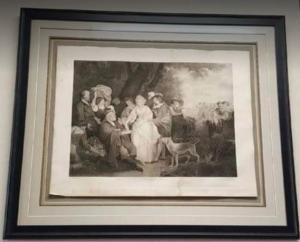 Antique art framed1793