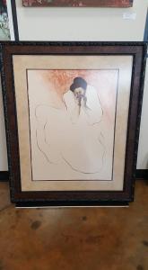 Lady Anabella framed art