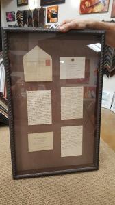 Framed White House Letters 1931