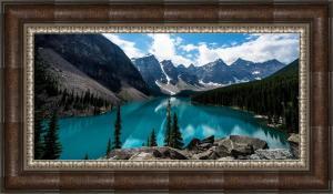 Canada art framed