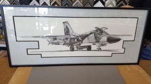 Airplane Art Framing